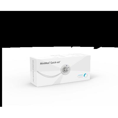 Инфузионный набор Квик-сет (Quick-set) 9 мм/60 см, MMT-397